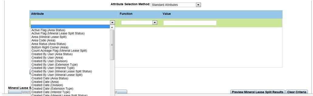 Advanced Attribute Selection - Qbyte CS Land - P2 Energy