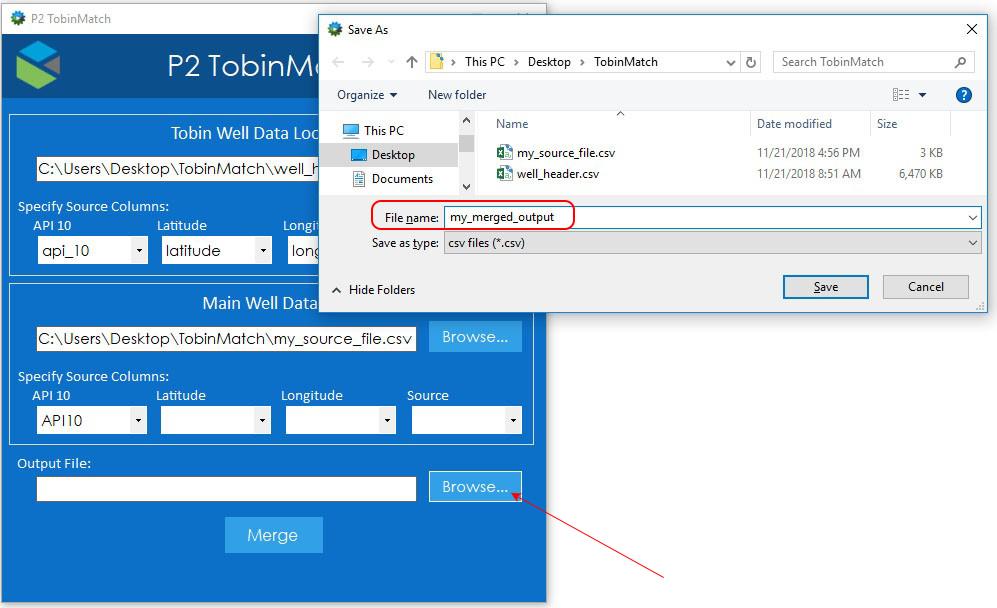 TobinMatch Full User Guide - P2 Tobin Data - P2 Energy